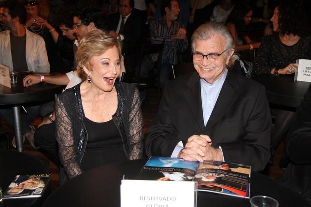 Glória Menezes e Tarcísio Meira em premiação de teatro no Rio (Foto: Thyago Andrade/Foto Rio News)