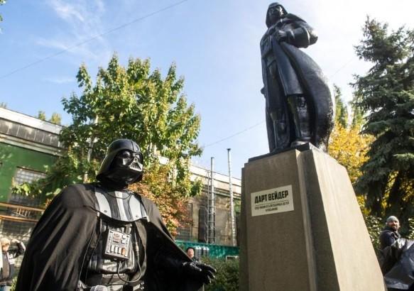 Darth Vader, candidato a prefeito de Odessa