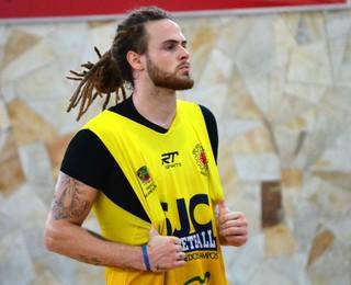 Leonardo Eltink São José Basquete (Foto: Danilo Sardinha/GloboEsporte.com)