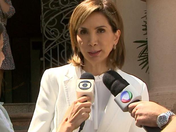 A prefeita Dárcy Vera (PSD) é investigada pela Procuradoria-Geral de Justiça de SP (Foto: Reprodução/EPTV)