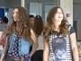Lívia apresenta Luciana para a galera do Leal Brazil