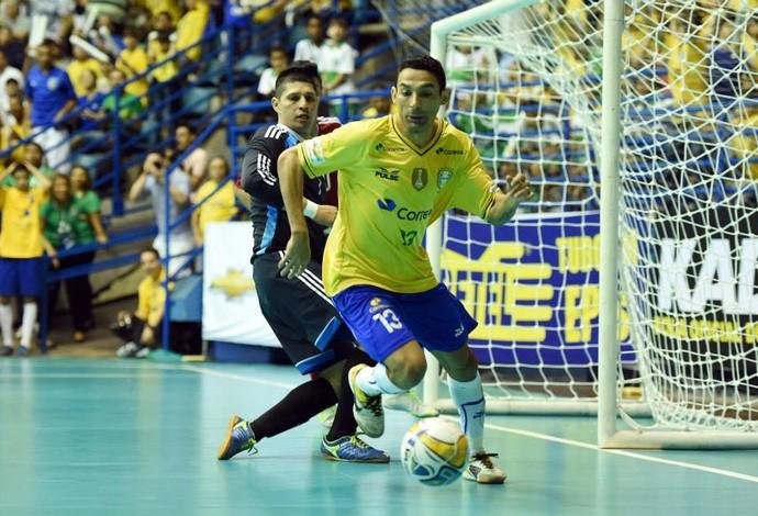 Final Grand Prix de Futsal - Brasil x Colômbia - Valdin (Foto: Gaspar Nóbrega)