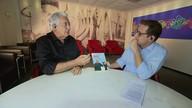 """Jornalista Francisco José para lançamento do livro """"40 Anos no Ar"""""""