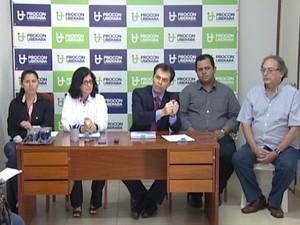 Procon Ministério Público Uberaba Construção Civil Fiscalização (Foto: Reprodução/ TV Integração)