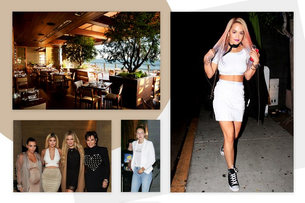 Na lista de clientes fiéis do Nobu, o clã Kardashian-Jenner, Rita Ora e Gigi Hadid (Foto: Reprodução)