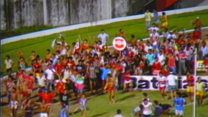 auto esporte, torcida, título de 1987 (Foto: Reprodução / TV Cabo Branco)