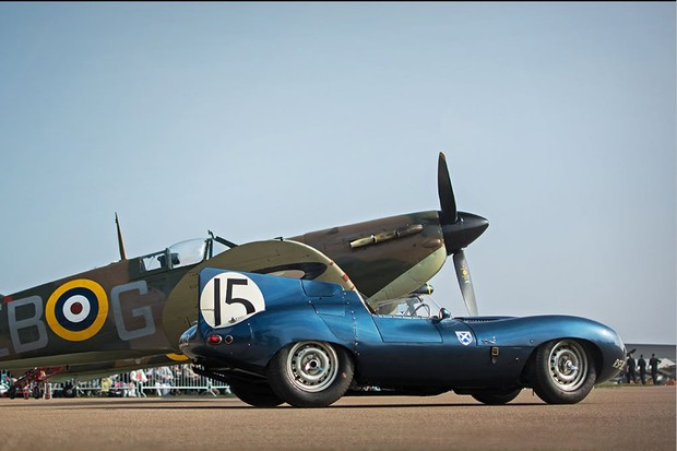 Jaguar D-Type (Foto: Divulgação)