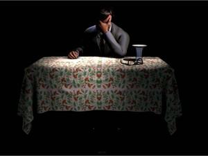 holograma holografia Chico Xavier Memorial Uberaba Blumer (Foto: Blumer art.Interativa/ Divulgação)