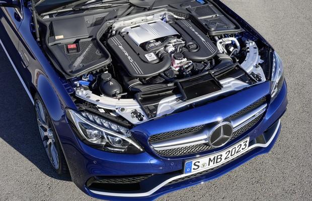 Mercedes Benz C63 AMG (Foto: Divulgação)