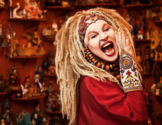 Elke Maravilha fará espetáculo no Theatro Municipal do Rio este mês (Foto: Divulgação)