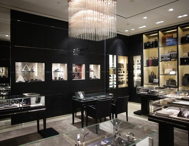 Entre na nova butique da Montblanc do shopping Cidade Jardim