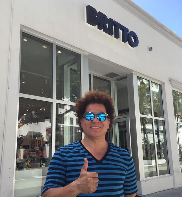 O artista brasileiro Romero Britto (Foto: Reprodução/Instagram)