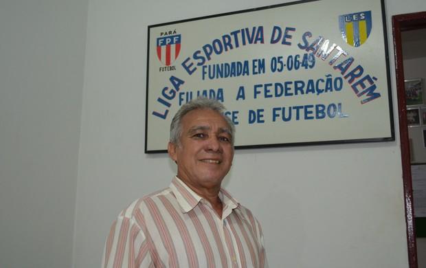 Lucivaldo Lopes, Presidente do Flamengo da Prainha (Foto: Weldon Luciano  - GLOBOESPORTE.COM)