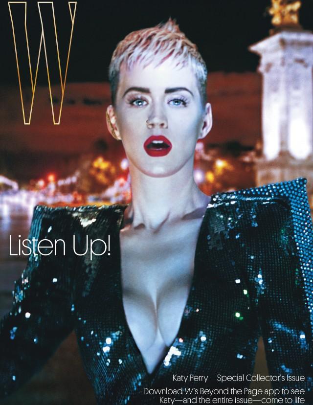 Katy Perry surge em versão futurista para edição de setembro da W Magazine (Foto: Divulgação)