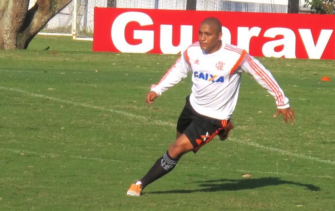 Anderson Pico, Treino Flamengo (Foto: Thales Soares)