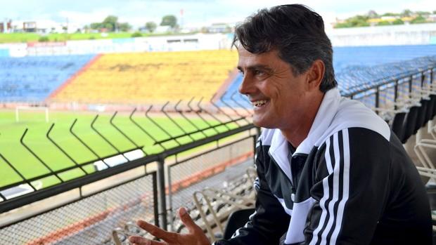 Gilcimar, atacante campeão com a Inter de Limeira em 1986 (Foto: Bernardo Medeiros / Globoesporte.com)