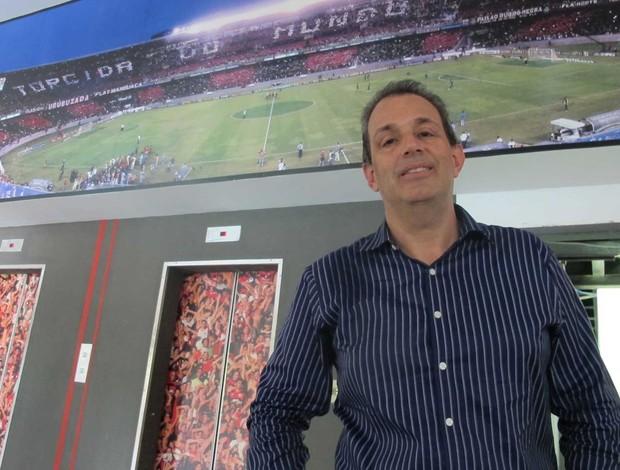 Luiz Eduardo Baptista flamengo (Foto: Janir Junior/Globoesporte.com)