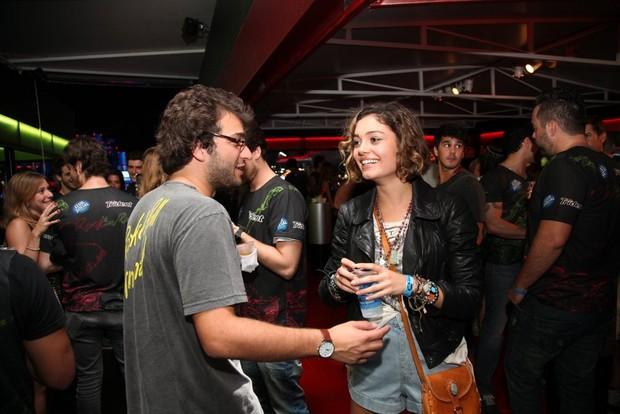 Humberto Carrão e Sophie Charlotte (Foto: Claudio Andrade / Foto Rio News)