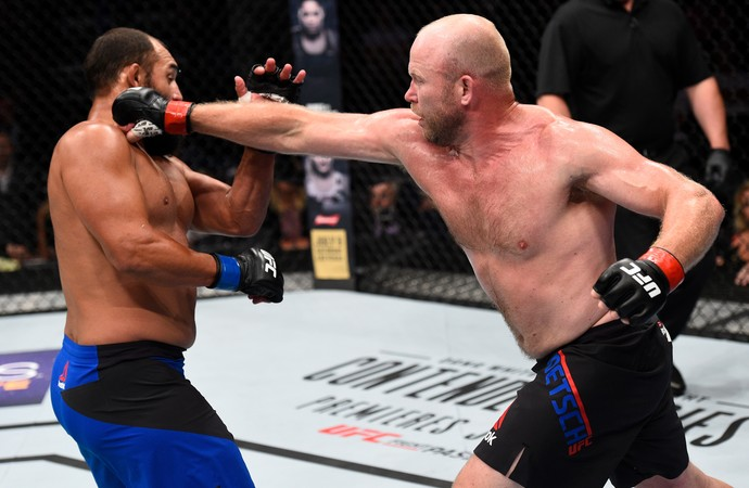 Tim Boetsch x Johny Hendricks UFC Oklahoma (Foto: Getty Images)