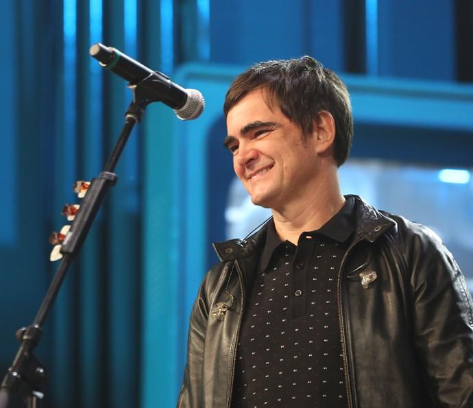 Samuel Rosa comenta que o rock não vive um momento ruim (Foto: Carol Caminha/Gshow)