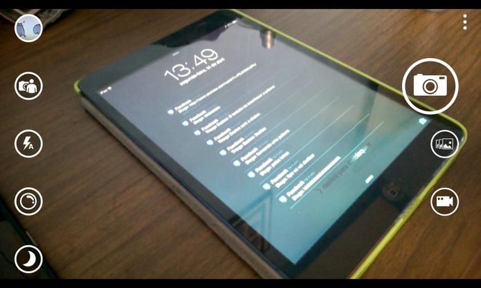 Windows Phone 8.1 traz aplicativo de câmera redesenhado e com novas funcionalidades (Foto: Reprodução/Elson de Souza)