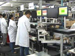 Crise na indústria (Gnews) (Foto: Reprodução GloboNews)