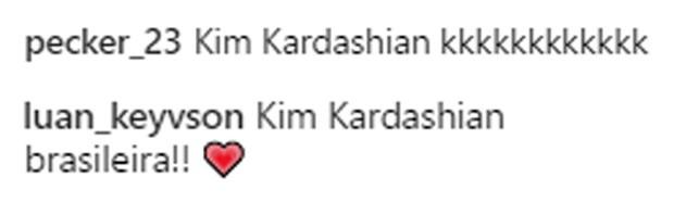 Simaria é comparada a Kim Kardashian (Foto: Reprodução/Instagram)
