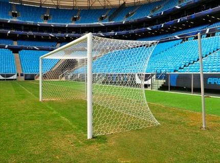 Novas traves da Arena do Grêmio (Foto: Francisco Alves/Divulgação, Arena)