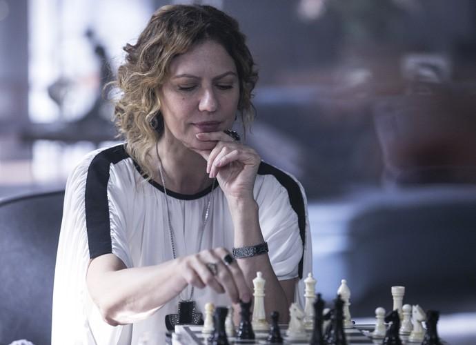 Patricia diz que Isabel pode cair na graça do público  (Foto: Inácio Moraes/Gshow)
