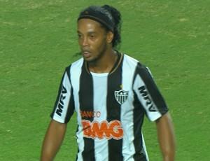 Ronaldinho Gaúcho Atlético-MG (Foto: Reprodução \TV Globo Minas)