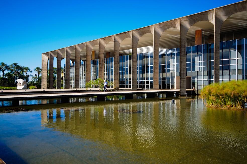 Palácio do Itamaraty, em Brasília (Foto: Marcelo Brandt/G1)