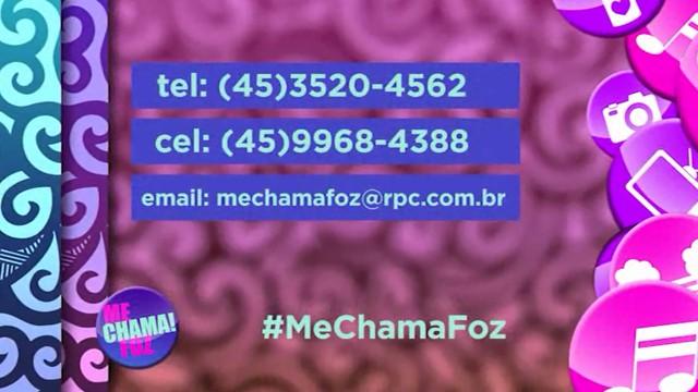 Me Chama Foz (Foto: Arte / RPC)