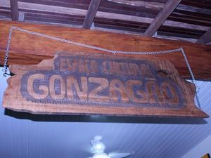 Entrada da 1ª Colônia Gonzagueana do Brasil, fundada em Teresina (Foto: Pedro Santiago/G1)