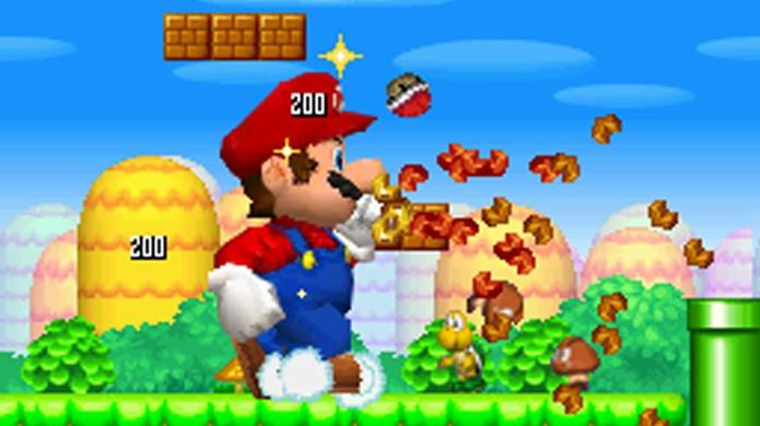 New Super Mario Bros. trouxe o mascote de volta após anos sem um novo game (Foto: Reprodução/VG Maps)