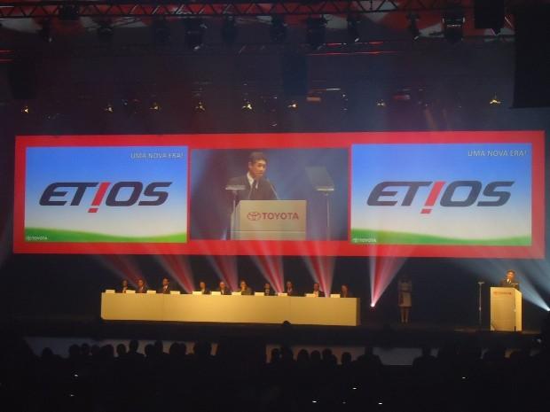 Fábrica da Toyota é inaugurada em Sorocaba (Foto: Gualberto Vita / G1)