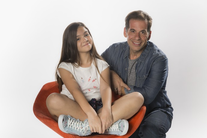 Mel Maia e Leandro Hassum vão alegrar a sua TV (Foto: Raphael Dias / Gshow)