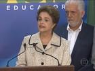Dilma se manifesta sobre declarações de Delcídio do Amaral ao PGR
