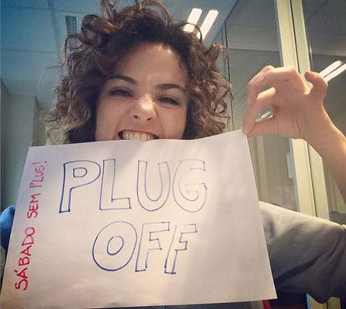 Michelly Neste sabádo não tem Plug! (Foto: Divulgação/Plug)