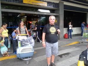Baiano consegue voltar ao Brasil após terremoto no Nepal (Foto: Manoel Tenório/Arquivo Pessoal)