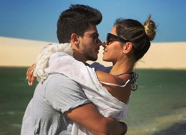 Mayra Cardi e Arthur Aguiar (Foto: Reprodução Instagram)