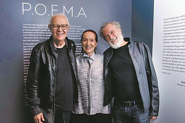 Ney Latorraca, Regina Miranda e Edilson Botelho (Foto: Isabela Kassow/Agência F3)