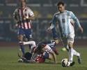 Explosivo: drible derrubador de Messi, bomba e patada marcam as semifinais