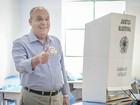 Sidnei Rocha (PSDB) vota em Franca, SP