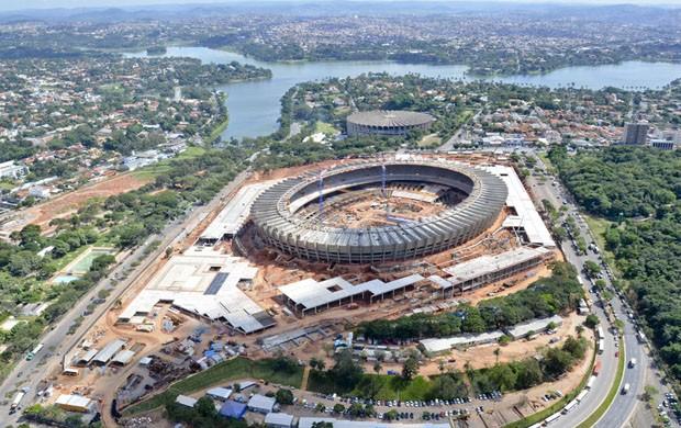 Vista aérea do Mineirão - 5 (Foto: Sylvio Coutinho / Divulgação)