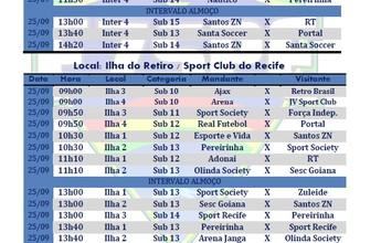Pernambucano de Base de Futebol 7 terá sexta rodada neste domingo; veja