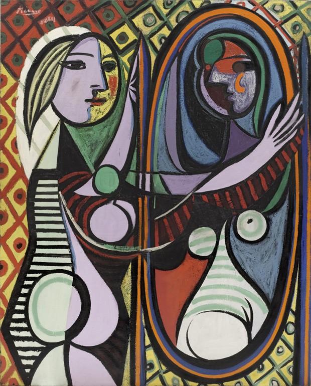 Jeune Fille Devant un Miroir (Girl Before a Mirror), Picasso - março de 1932 (Foto: Divulgação)