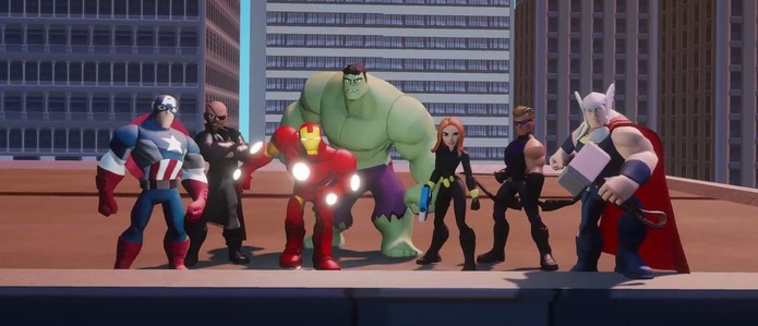 Disney Infinity 2.0 traz Homem-Aranha, Homem de Ferro e Hulk para o game (Foto: Divulgação)