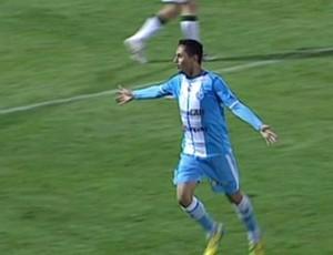 Eduardo Ramos marcou um dos gols na derrota do Paysandu (Foto: Reprodução/SporTV)