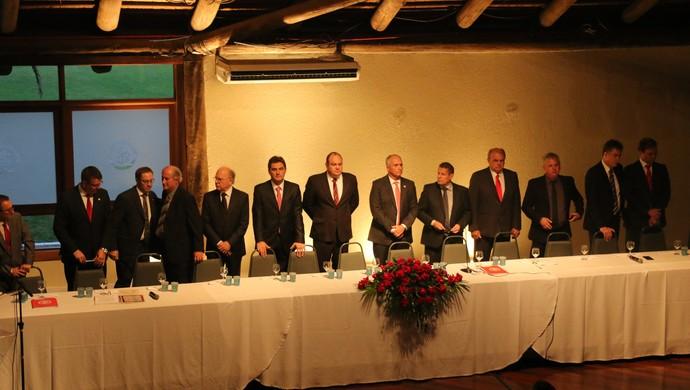 Cerimônia de posse da diretoria do Inter para o biênio 2017/18 (Foto: Eduardo Deconto)