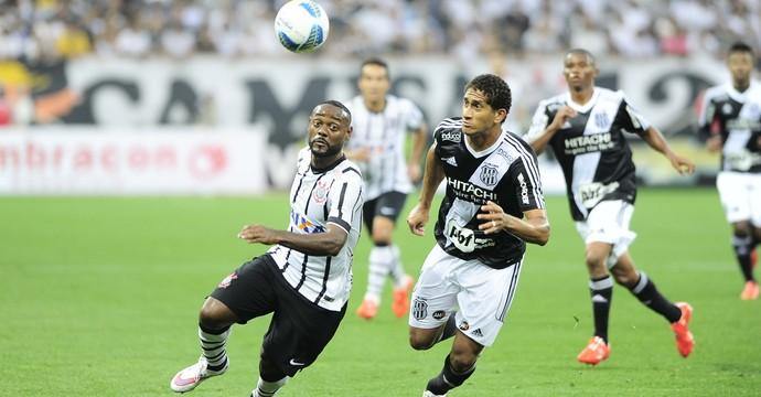 Vagner Love Corinthians x Ponte Preta (Foto: Marcos Ribolli)